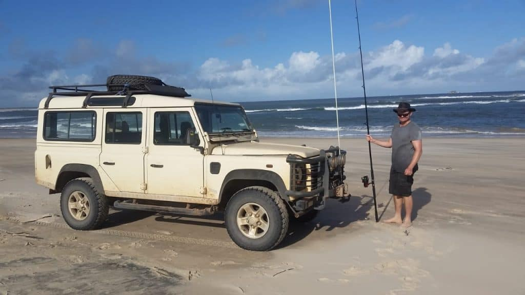 Me and Livingstone in Mozambique.