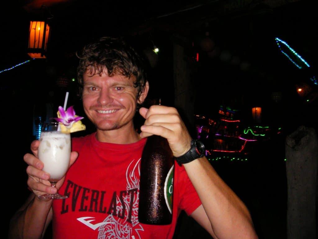 Having a blast in Thailand.