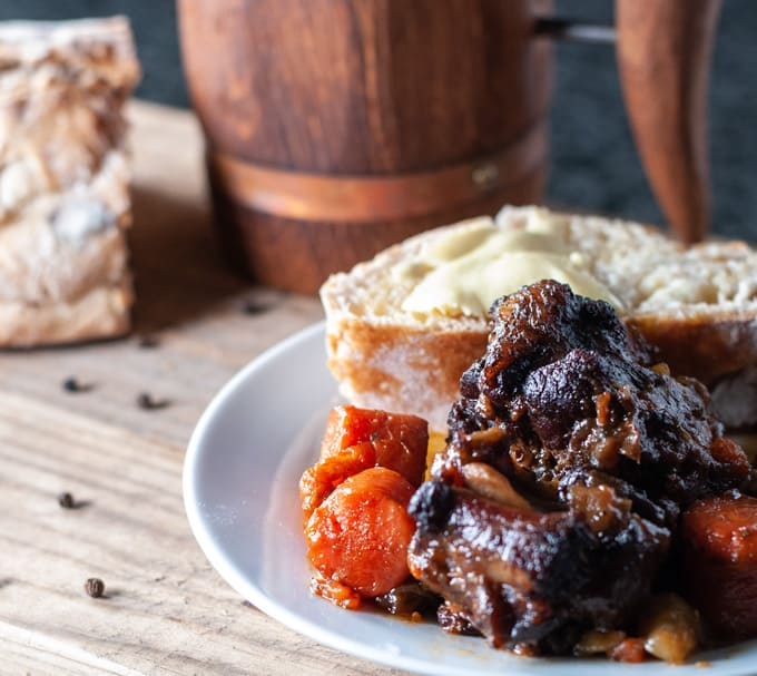 Oxtail Stew. The food of kings!